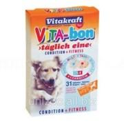 Мультивитаминный комплекс Vita-Bon large витамины для крупных пород собак 31 шт фото