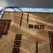 Многослойный коврик с подогревом 50х30 фото