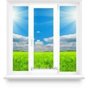 Окно из ПВХ 1700х1500 поворотно-откидное фото