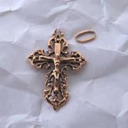 Ремонт крестиков и подвесок из золота и серебра фото