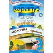 Каша Карапуз молочная кукурузная с абрикосом фото