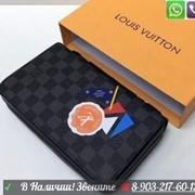 Кошелек Louis Vuitton Zippy XL широкий с ручкой Луи Виттон Клач фото