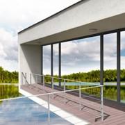 Изготовление оконных и фасадных систем из древесины фото