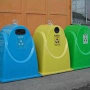Контейнер для раздельного сбора мусора фото