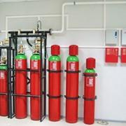 Газовое пожаротушение фото