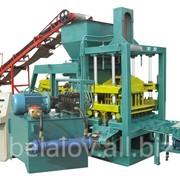 Оборудование по производству сплитерных блоков и тротуарной плитки QT4*15C; QT4*20C фото