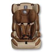 FARFELLO Автокресло детское Farfello GE-E велюр коричнево-бежевое (brown+beige) фото