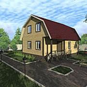 Дом из бруса Тимур фото