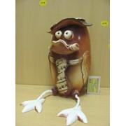 Большой черепашонок с бантиком - с висящими ножками, арт. 985924 фото