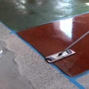 Цветной упрочнитель бетонных полов фото