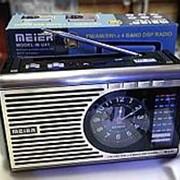Радио Meier M-U41 с МП3, фонарь, мультидапазон FM. SW, Am фото