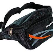 Поясная сумка №12 Sports черный фото