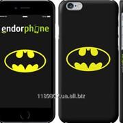 Чехол на iPhone 6 Бетмен логотип 3201c-45 фото