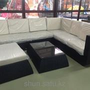 Комплект мебели из искусственного ротанга, код: meb3 фото