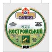 """Сыр твердый """"Костромской"""" 45% жирности фото"""