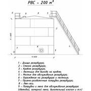 Резервуар вертикальный стальной РВС-200 м3 фото