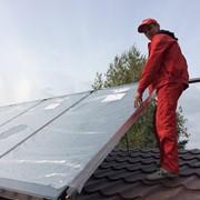 Установка солнечных коллекторов Киев и Киевская область фото