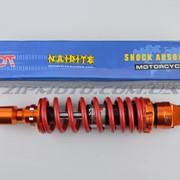 Амортизатор JOG 250mm, тюнинговый NDT оранжево-красный фото