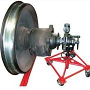 Установка для демонтажа буксовой гайки М110 колесных пар фото