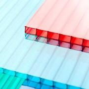 Сотовый поликарбонат от 3 до 10мм , Цветной и прозрачный. Размер 2,1х6м. Арт № 9-01-25 фото