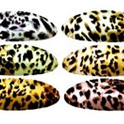 Заколка 336365 BBox Z 397 автомат пластик для волос цветной микс овальная см_11,5*4 в уп.6 шт ( цена за 1 шт.) фото