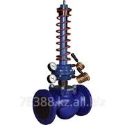 Регулятор давления чугунный фланцевый после себя 200Х-8, Ду 200 мм, Масса 78 кг, Длинна 465 мм фото