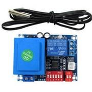Цифровой терморегулятор XH-W1705 (AC 220V) с датчиком NTC фото
