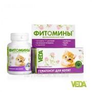Фитомины Гематокет для котят 100 таб Veda фото