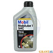 Трансмиссионное масло MOBIL MOBILUBE SHC 1л фото