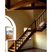 Монтаж и отделка металлических каркасов лестниц фото