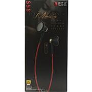 Внутриканальные наушники SZX S58 Black & Red фото