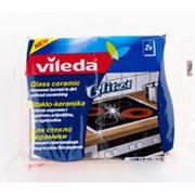 Губка VILEDA для стеклокерамических плит, 2шт фото