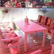 Комплект садовой мебели Бланш текстиль фото