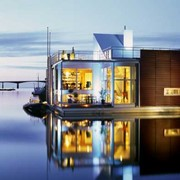 Дома на воде фото