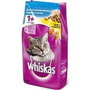 Whiskas 1,9кг Сухой корм для стерилизованных кошек и котов от 1 года Курица фото