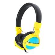 Наушники Maxxter CDM-101Y Yellow/Blue фото