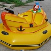 Бамперная лодочка Пират, лодочки для бассейнов, Аттракционы надувные фото