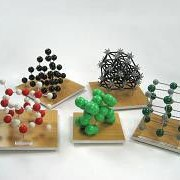 Набор моделей кристаллических решеток (10 шт.) фото