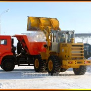 Уборка и вывоз снега спецтехникой в Туле фото
