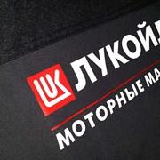 Печаль логотипов на спец одежде фото