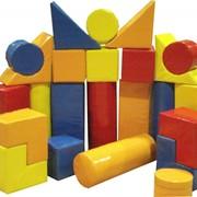 Конструктор (Строитель-3), детские мягкие модули фото