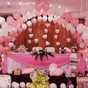 Установкой декораций из воздушных шаров фото