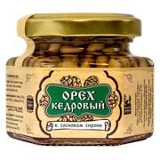 Ядро кедрового ореха в сосновом сиропе 110 г Сибирский Знахарь фото