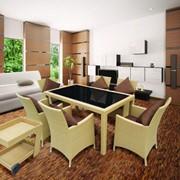 Комплект мебели из искусственного ротанга К50 фото