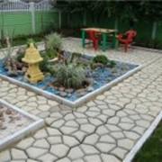 Дорожки садовые фото