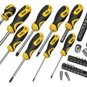 Набор инструментов 48 ед. отвертки и головки в сумке (3x75; 5x100; 6x38; 6x100; 8x150; Ph: 0x75; 1x7 фото