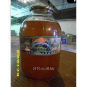 Соки яблочные в стеклобанке (1 и 3 литровая) фото