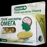 ПНЖ кислоты ОМЕГА 60капс /Экосвит/ фото