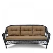Плетеный диван LV216-1 Brown/Beige фото