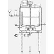 Резервуар вертикальный с электрическим нагревом фото